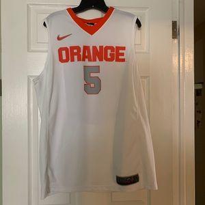 Syracuse University Orange Men's Nike Jersey #5